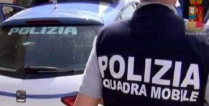 Gli agenti della Squadra Mobile di Ancona