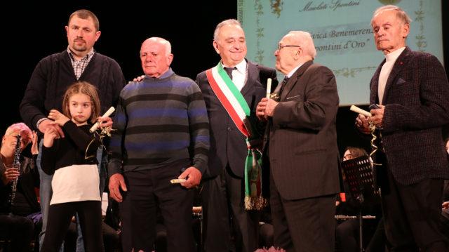 """Quattro """"Spontini d'Oro"""" premiano il volontariato e la diffusione della cultura"""