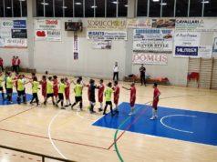 Un momento del derby Ostrense-Avis Arcevia