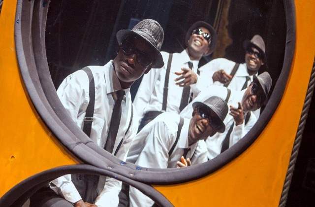 "Osimo, i ""Black blues brothers"" in città"