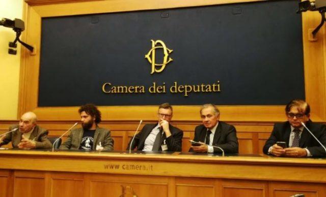 Marco Scarponi (secondo da sinistra) in audizione alla Camera dei Deputati
