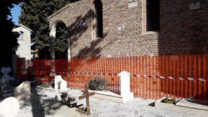 La chiesa del cimitero di San Giovanni