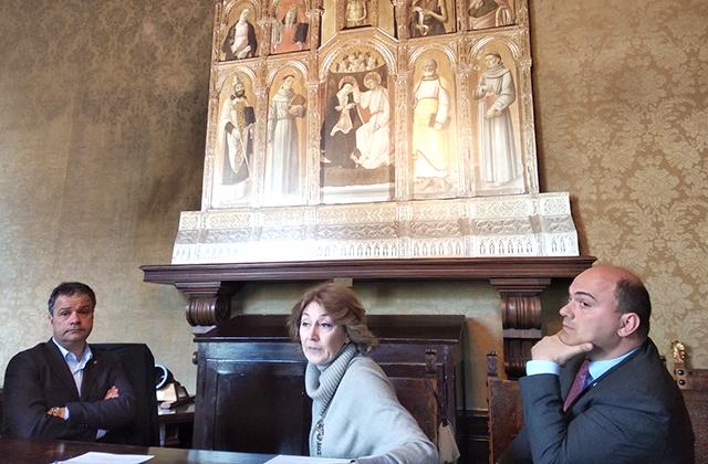 Osimo, partito il restauro della pala del Vivarini
