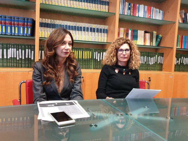 Da sin. Giovanna Lebboroni e Francesca Giaquinto