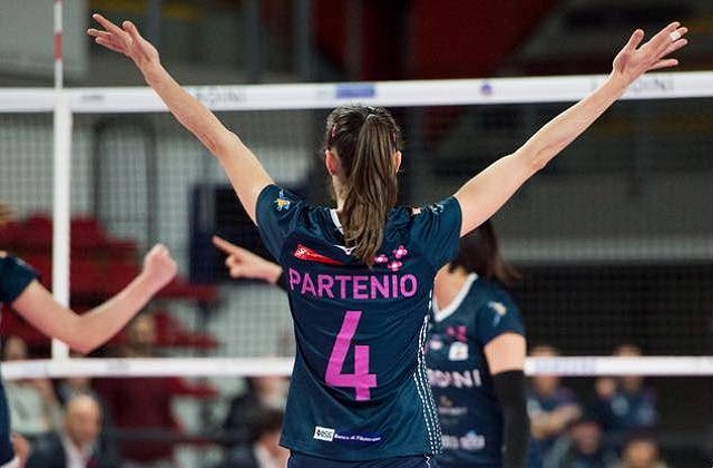 Laura Partenio, Lardini Filottrano