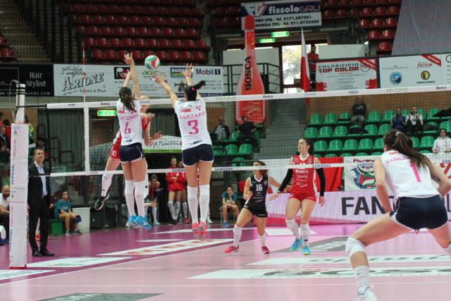La Lardini sconfitta senza appello a Cuneo