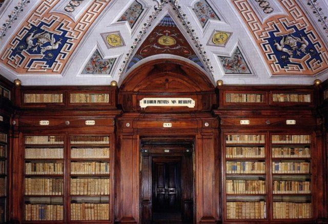 Biblioteca comunale Mozzi Borgetti a Macerata