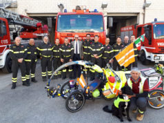 Martin Hutchinson e Starsky al Comando Provinciale dei Vigili del Fuoco di Ancona