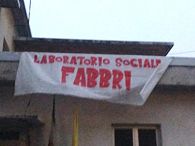 L'occupazione del Laboratorio sociale Fabbri