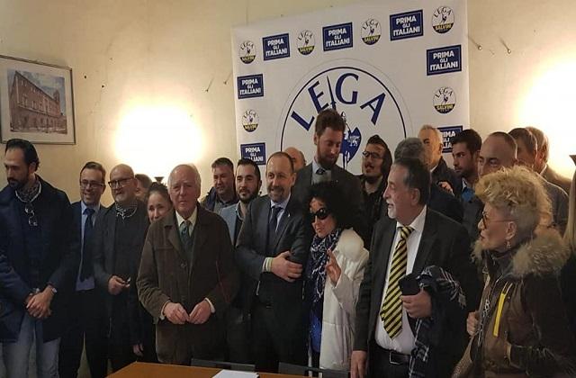 Amministrative di Osimo, la Lega inaugura la sede