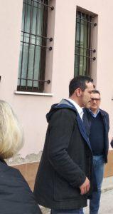 Il sindaco Roberto Ascani e il presidente del Consiglio Damiano Ragnini