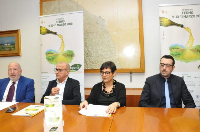 Da sinistra Angelo Serri, Fabrizio Cesetti, Anna Casini e Fracesco Trasatti