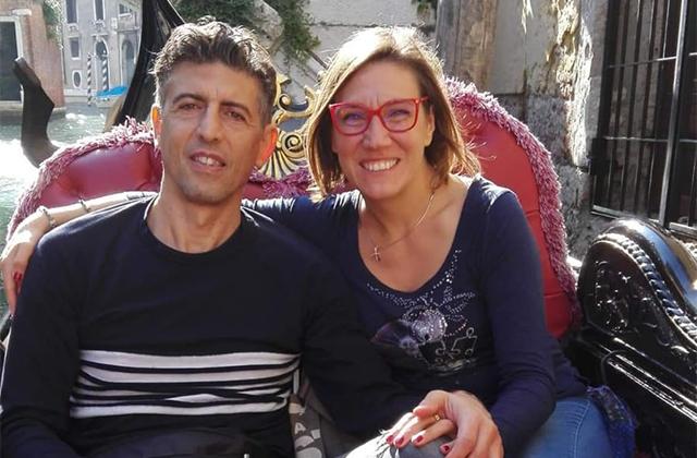Gianluca Carotti e Elisa Del Vicario