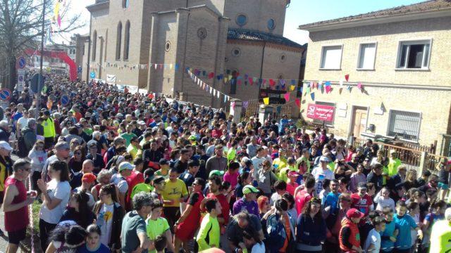 Caminada de San Giuseppe boom, festa per 2500 a Jesi!