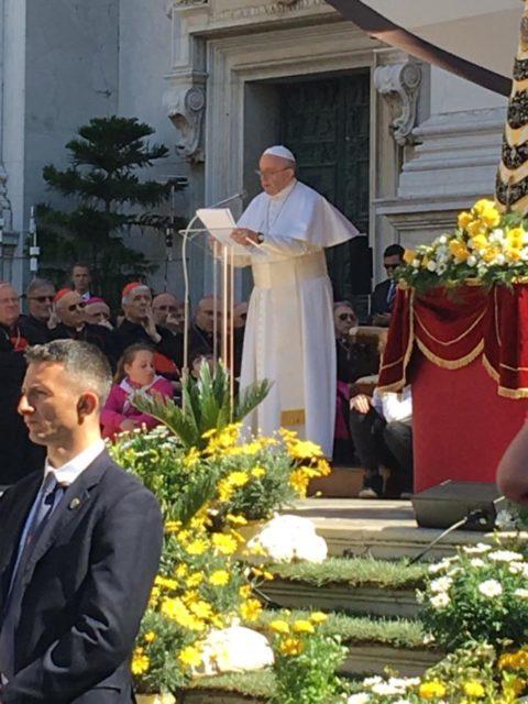 Il Papa a Loreto incontra i fedeli