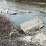 Crollati i precedenti manufatti per fermare l'erosione del fiume Misa