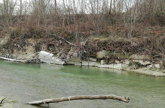 Scogliere e messa in sicurezza del fiume Misa: le promesse di Aguzzi per Senigallia