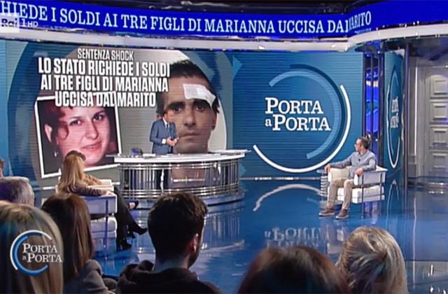 """Carmelo Calì ospite a """"Porta a porta"""" su Rai Uno"""