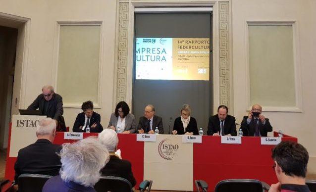 Rapporto Federculture, Bocci: «Cultura piattaforma di sviluppo del territorio»