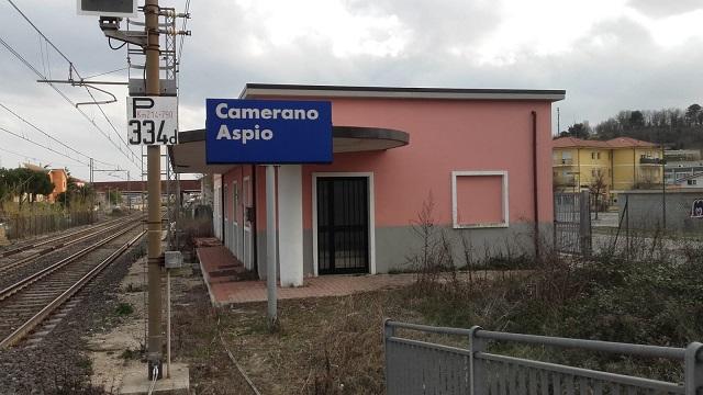 La vecchia stazione dell'Aspio