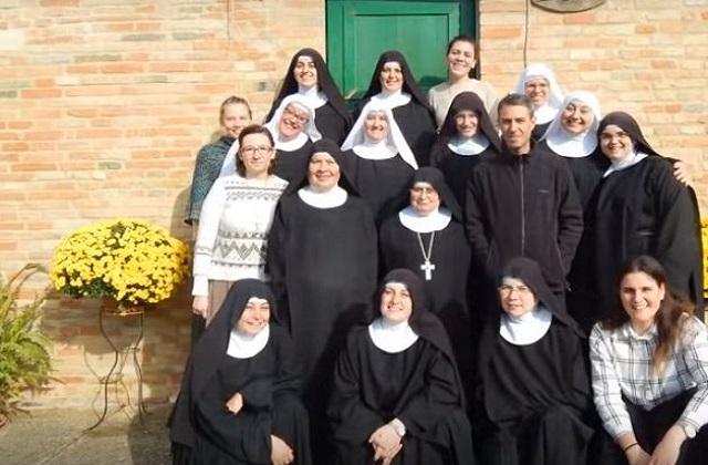 Le monache benedettine di Sant'Angelo in Pontano
