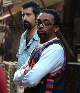 Jordan Stone con il regista Spike Lee