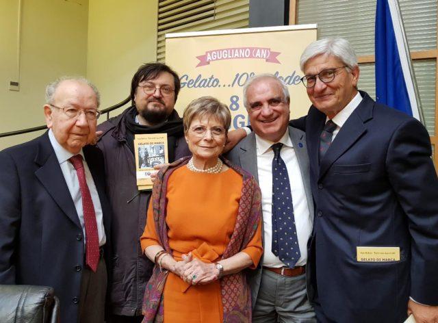 Da sinistra Ugo Bellesi, Tommaso Lucchetti, Simonetta Varnelli, Martino Liuzzi, Sauro Lombardi