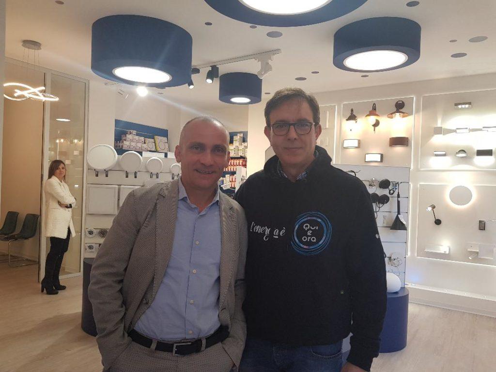Da sinistra Francesco Lazzaro e Luciano Castiglione