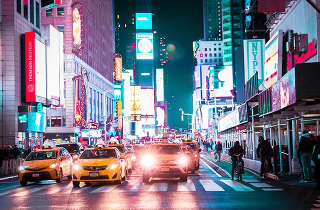 Auto a Times Square, New York
