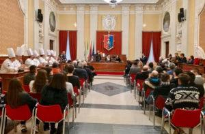 La festa in Comune a Senigallia per la terza stella Michelin ottenuta dallo chef Mauro Uliassi