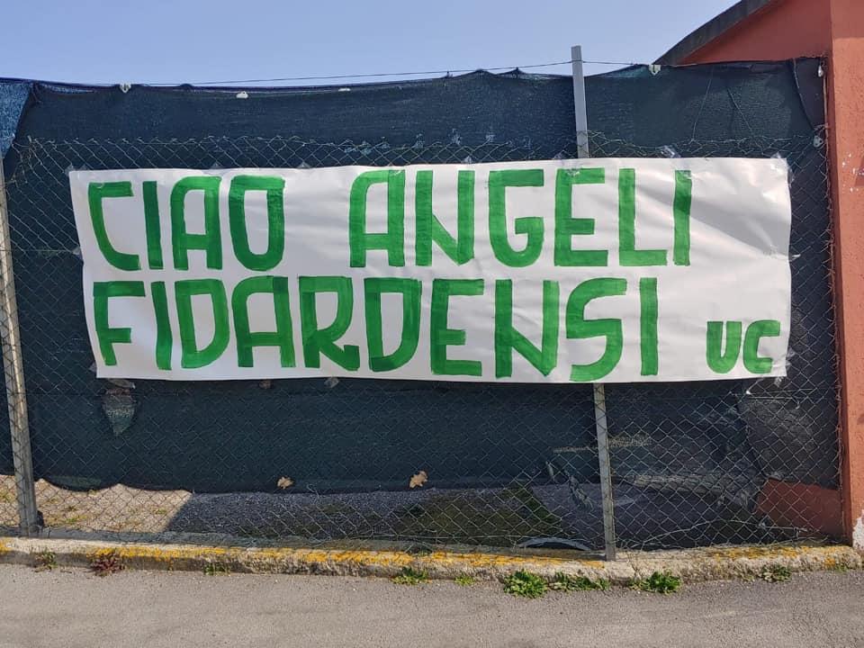 Gli ultras del Castelfidardo interrompono la protesta: allo stadio in ricordo di Gianluca Carotti
