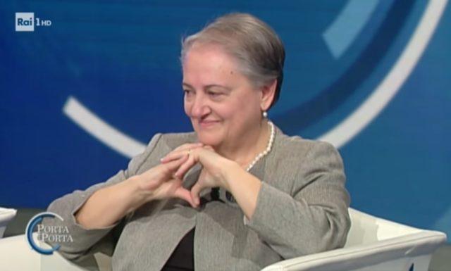 Valeria Mancinelli, ospite della trasmissione