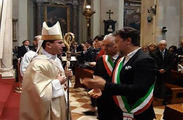 Alluvione ad Andalo, Loreto consegna una nuova statua della Madonna