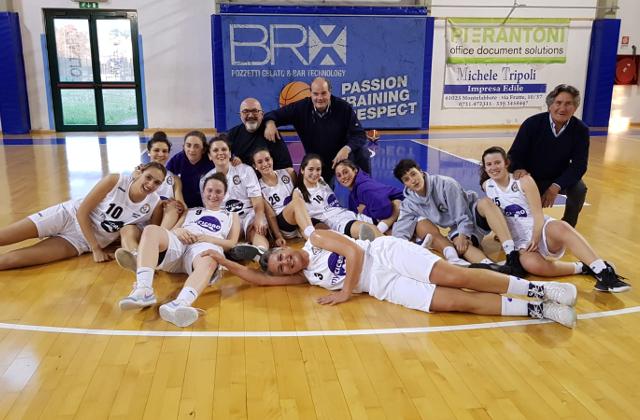 Basket2000 My Cicero Senigallia promossa in Serie B