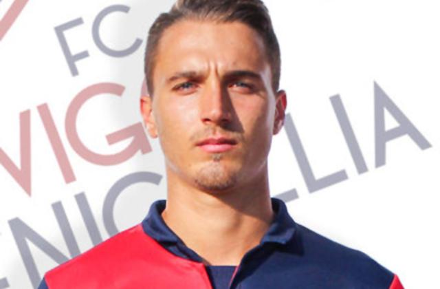 L'attaccante della Vigor Senigallia Gianfranco D'Errico