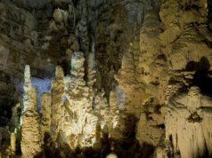 Uno scorcio delle grotte di Frasassi