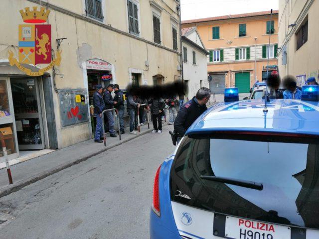 I controlli della Polizia della Questura dorica