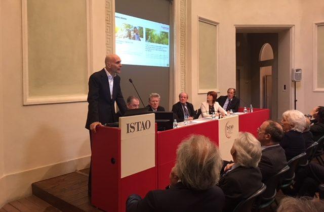 Paolo Merloni ha tenuto una Lectio Magistrlis in occasione dell'inaugurazione dell'Anno Accademico Istao 2018-2019