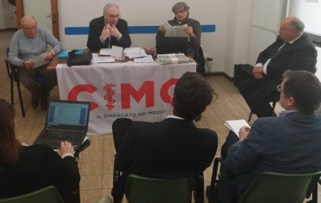 Il confronto M5S-CIMO (da sinistra Caporelli, Di Martino, Alessandrini, Moretti (1)