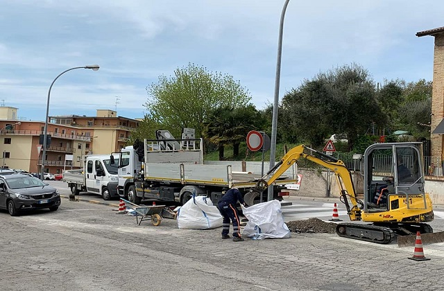 Osimo, nuova illuminazione sulle strade per la sicurezza dei pedoni