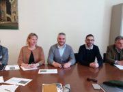 Vito Magliaro, Paola Martinez, Gabriele Santarelli, Cristiano Pascucci ed Enrico Brachini