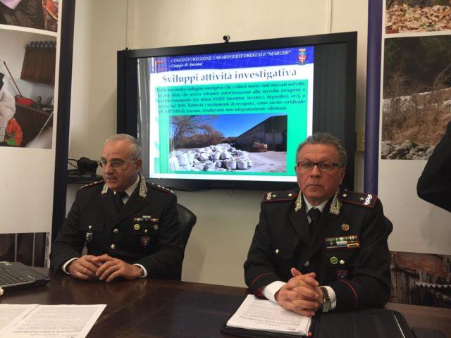 Il colonnello Roberto Nardi e il generale Fabrizio Mari