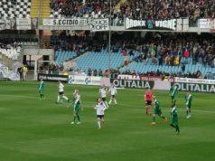 Una fase della partita Cesena - Castelfidardo