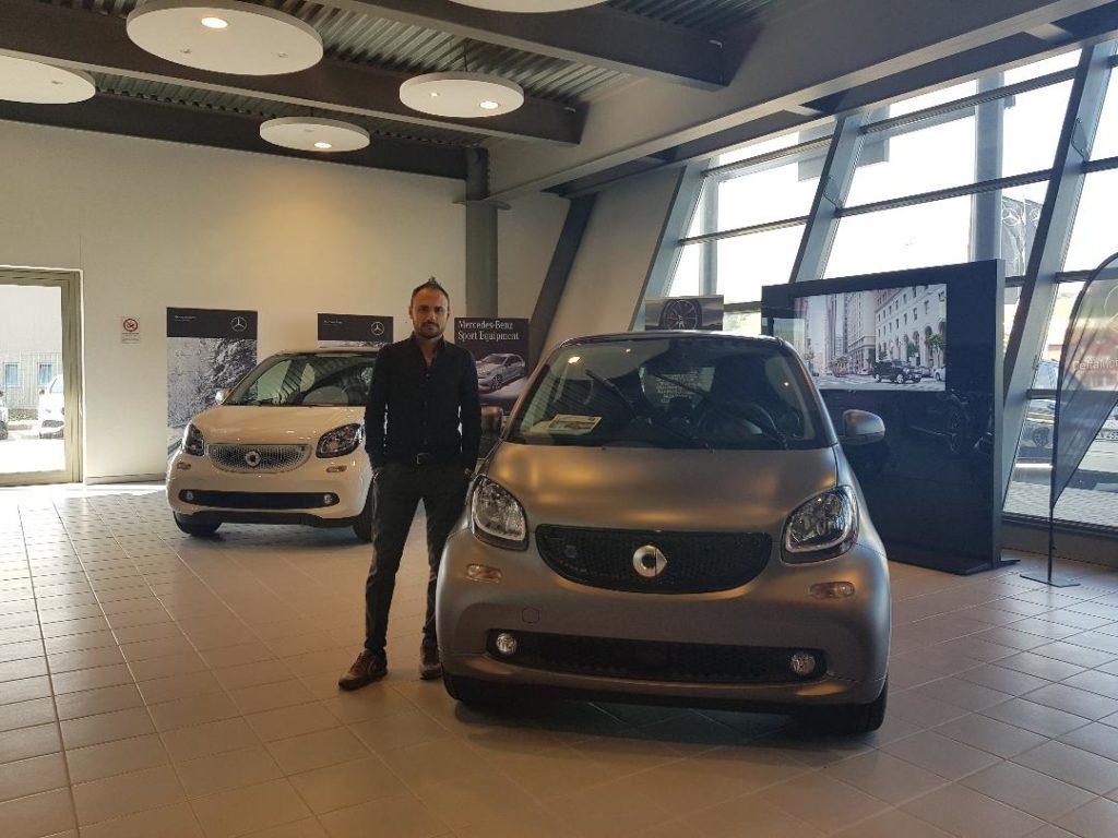 Danilo Marino della Delta Motors di Ancona