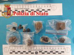 La droga sequestrata al Polacco