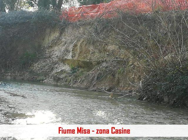 Progetto Ostra, il fiume Misa pronto ad alluvionare la vallata