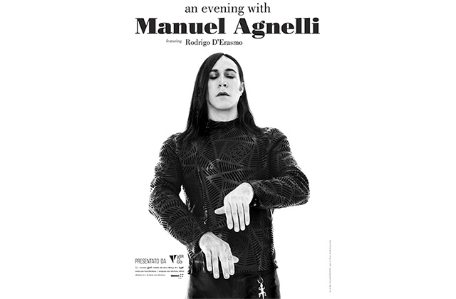 """La locandina dello spettacolo """"An Evening with Manuel Agnelli"""""""