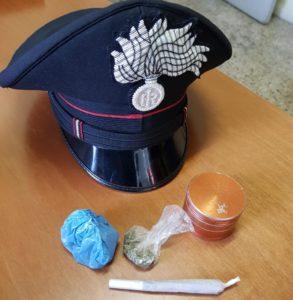 La droga sequestrata dai carabinieri di Civitanova Marche