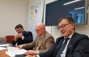 Da sinistra: Giorgio Savini, Alberto Mazzoni e Antonio Centocanti