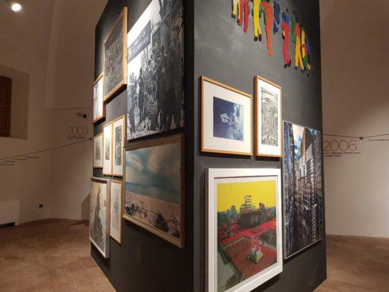 Alcune opere pittoriche esposte nel Museo Premio Ermanno Casoli